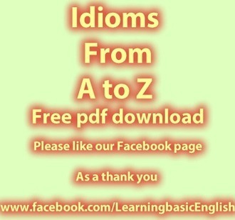 Idioms from A to Z PdF free to download | Creative and Critical thinking learning | Scoop.it