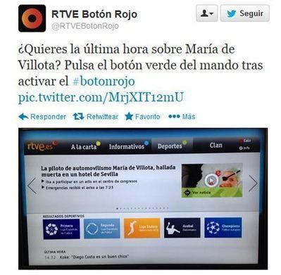 RTVE se disculpa por un comentario en Twitter sobre María de Villota   Errores en Social Media   Scoop.it