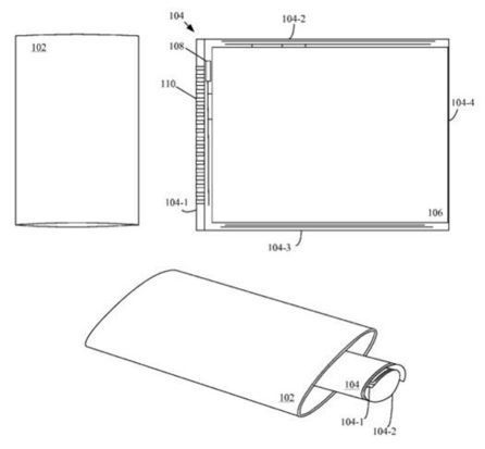 Apple files patent for iPhone with wraparound display • The Register | It Ain't IT for Naught | Scoop.it