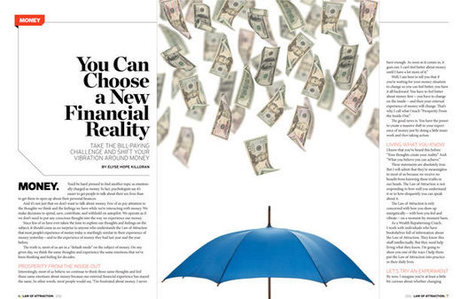 Choose a New Financial Reality | Law of Attraction Magazine | Thinking like a Billionaire | Scoop.it