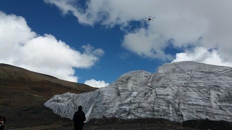 Monitoreo de glaciares del Perú usando Drones   ElectroManias   drones   Scoop.it