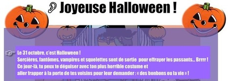 Halloween - Vrai ou faux? | FLE enfants | Scoop.it