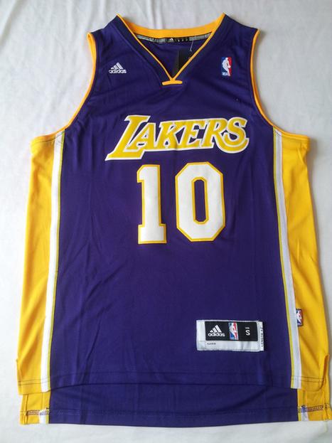 L.A. Lakers #10 Nash Swingman NBA Jerseys-Purple   nba team news   Scoop.it