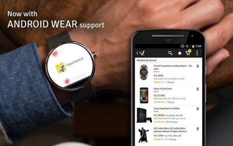 Flipkart Becomes the First eCommerce Player to Launch a Smartwatch App | eCommerce News | Scoop.it