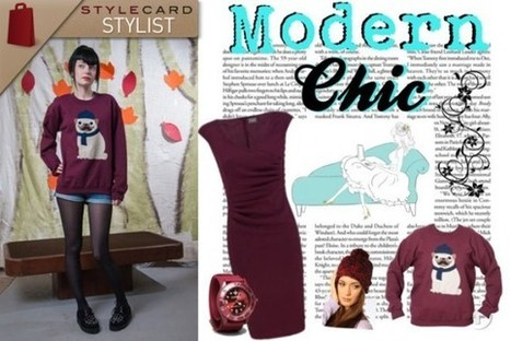StyleCard Stylist: Maroon Colour Trend for AW12 | StyleCard Fashion Portal | StyleCard Fashion | Scoop.it