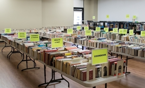 Next library book sale set for July 30-Aug. 1 | Tennessee Libraries | Scoop.it