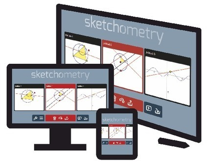 Sketchometry | K-12 Web Resources - Math | Scoop.it