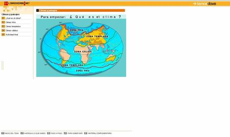 Climas y paisajes | Historia y Mapas | Scoop.it