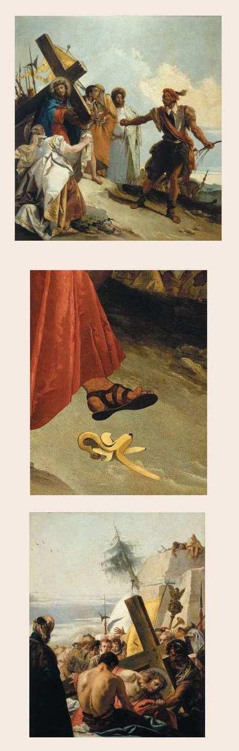 Il imagine des histoire délirantes derrière les plus grands tableaux de l'histoire | Le Lol et le Whaou des Internets | Scoop.it