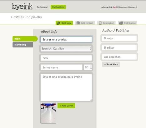 Cream eBooks publica tu libro en 4 pasos en internet | Las TIC y la Educación | Scoop.it