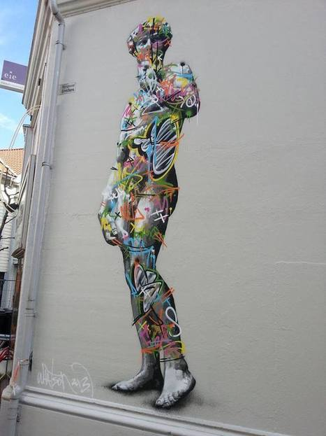 Global Street Art • Gorgeous piece by Martin Whatson. | C ART news | Scoop.it