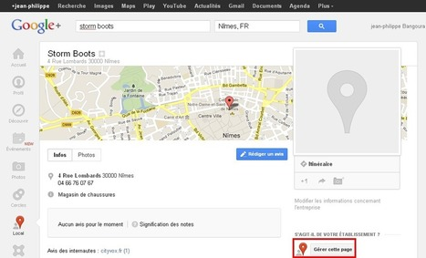 Google+ Local, la Fiche d'Entreprise Sociale | WebZine E-Commerce &  E-Marketing - Alexandre Kuhn | Scoop.it