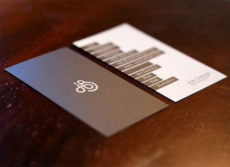 Current Business Card Design Trends & How they can be Developed | Graphic Design | Scoop.it