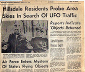 The UFO Case Michigan | Real Paranormal Videos | Unexplained Mysteries and the Paranormal | Scoop.it