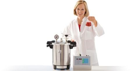 Des autoclaves à vapeur portables pour un usage en laboratoire   communiqué de presse   Scoop.it