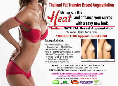 Benefit Breast Fat Transfer Thailand/Natural Breast Augmentation Thailand - Urban Beauty Thailand | Laser Facelift Skin tightening Bangkok, Ulthera, Coolsculpting by Zeltig, Thread lift, Thermage, Mini facelift Phuket Thailand | Scoop.it