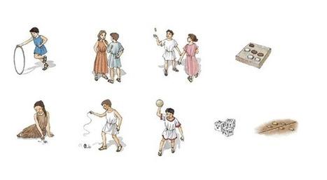 El juego en la vida de los romanos. | les actualités des Langues et Cultures de l'Antiquité | Scoop.it