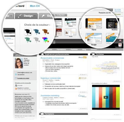 Le CV en ligne nouvelle génération - CV gratuit | DoYouBuzz | Guinetpauline | Scoop.it