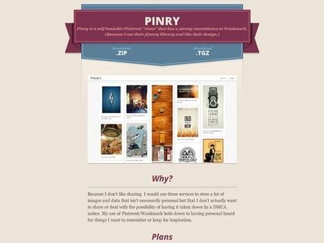 Créez votre propre Pinterest avec Pinry | E-marketeur dans tous ses états | Scoop.it