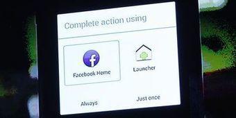 Facebook Home est téléchargeable en France | Réseaux sociaux @ | Scoop.it