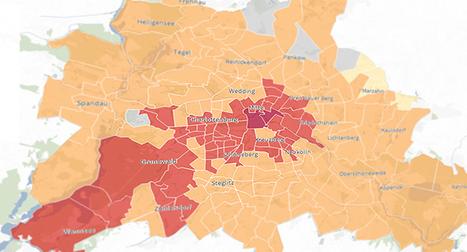 Berliner Morgenpost : Carte interactive de la hausse des loyers à Berlin (en allemand) | Nouvelles pratiques journalistiques vues de Berlin | Scoop.it
