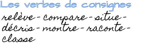 Les verbes de consignes. | POURQUOI PAS... EN FRANÇAIS ? | Scoop.it