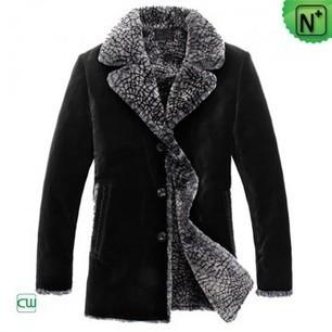 Sheepskin Fur Coats for Men CW87723 | Men's | Scoop.it