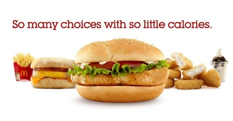 Favorites Under 400 :: McDonalds.com | Food Labels and Calorie info. from our Favorite Restaurants | Scoop.it