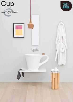 Collection de lavabo de salle de bain Cup - TREEMME | Design de la salle bain | Scoop.it