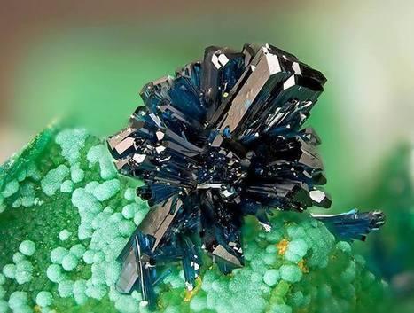 Clinoclase | Minerals | Scoop.it