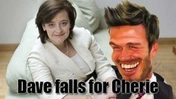 Now This Is Really Funny: David Fancies Cherrie Like Mad | News From Stirring Trouble Internationally | Scoop.it