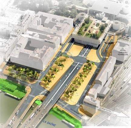 Anneau des Sciences : quel avenir pour le centre d'échange de Perrache ? | actualités économique Lyon | Scoop.it