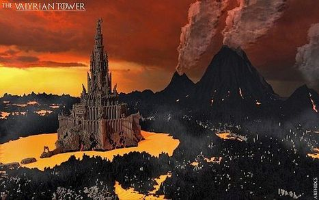 The Valyrian Tower Map for Minecraft (1.8/1.7.10/1.7.2) | MinecraftMaps | Scoop.it