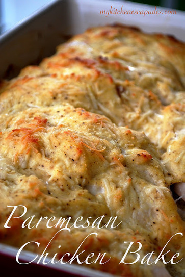 My Kitchen Escapades: Parmesan Chicken Bake | .FoodWeEat | Scoop.it
