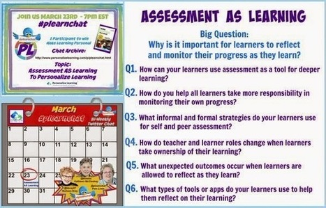Assessment AS Learning Conversations | 21st Century Literacy and Learning | Scoop.it