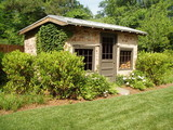Residence on the Chattahoochie River - traditional - garage and shed - atlanta - by Bellwether Landscape Architects | Dempsey's Distinguished Destinations | Scoop.it