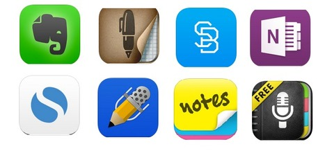 8 Useful Note Taking Apps for iPad ~ Educational Technology and Mobile Learning | iPad in Education | Scoop.it