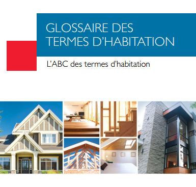 (FR) (PDF) - Glossaire des termes d'habitation | Canada Mortgage and Housing Corporation | translations | Scoop.it