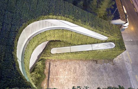 Des escaliers insolites végétalisés ! | Design insolite | Scoop.it