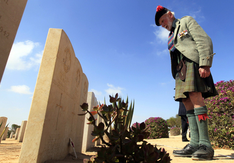 El Alamein veterans gather in Egypt for 70th anniversary of battle  - Telegraph | ''SNIPPITS'' | Scoop.it