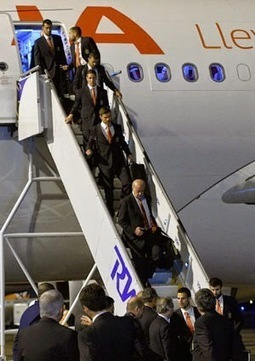 Defending Champions Spain Arrives in Brazil ~ FIFA World Cup 2014 Online | FIFA World Cup | Scoop.it