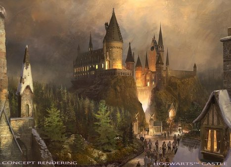 This Is NOT A DRILL — Harry Potter Is Coming to Universal Studios Hollywood! - POPSUGAR | Alchemisty | Scoop.it