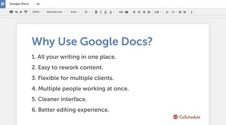 How To Use Google Docs For Blogging And Marketing | Using Google Drive in the classroom | Scoop.it