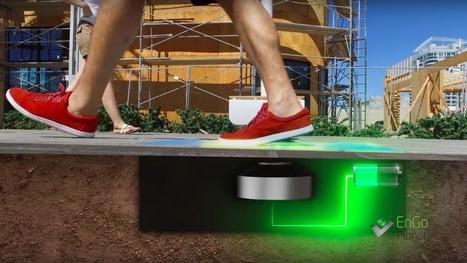 À Las Vegas, on teste des lampadaires alimentés par nos pas   Eco Innovation   Scoop.it
