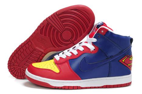 superman nike dunk high shoes,custom dunk superman shoes | Superman Nike Shoes Superhero Dunks | Scoop.it