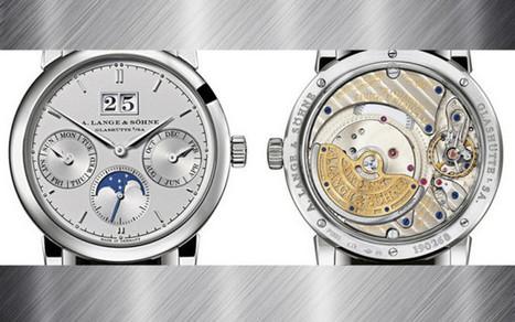A.Lange & Söhne Saxonia Annual Calendar Platinum   Watch Magazine   Scoop.it