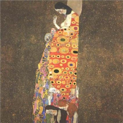 Hope II by Gustav Klimt, the First Painting I Truly Fell in Love With | Cris Val's Favorite Art Topics | Scoop.it