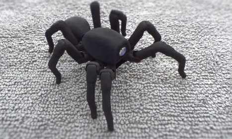 Bluffant, ce robot-araignée se déplace exactement comme une véritable tarentule   Le Web de Max   Scoop.it