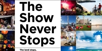 "New Auckland tourism campaign launched : ""The show never stops"" 