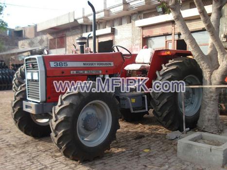 Massey Ferguson 385 4wd | Massey Ferguson Tractors | Scoop.it